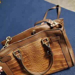 Merona brown purse